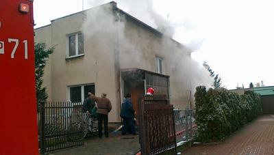 Pożar na Wojska Polskiego