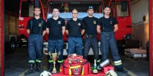 Sukces OSP Luboń na V Zawodach Sportowo – Pożarniczych w Kobylnicy