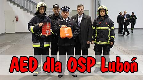 AED dla OSP Luboń