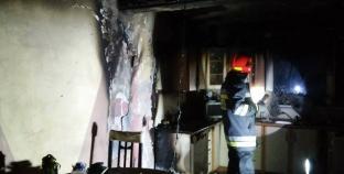 Pożar kuchni przy ulicy Kwiatowej