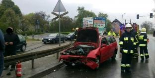 Wypadek na ulicy Armii Poznań
