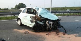 Duży wypadek na A2