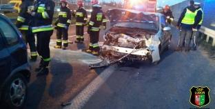 Wypadek na Głogowskiej