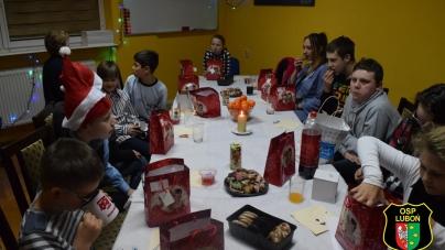Wigilia Młodzieżowej Drużyny Pożarniczej w Luboniu