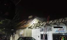 Pożar budynku przy ulicy Sobieskiego