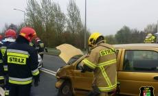 Wypadek na Unijnej – dwie osoby ranne