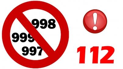 Do Końca roku znikną numery : 997, 998 i 999 ?