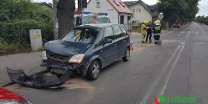Wypadek przy gimnazjum nr 2