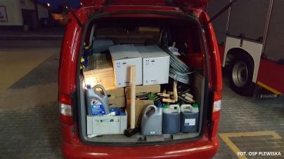 PODSUMOWANIE zbiórki dla poszkodowanych przez nawałnice w gminie Czersk