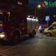 Pożar na balkonie, przy ulicy Jana Pawła II