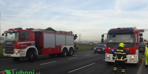 Głogowska – Zderzenie dwóch samochodów osobowych