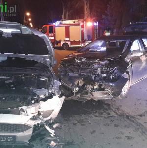 Wojska Polskiego – Kolizja dwóch samochodów osobowych