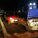 Wypadek 4 samochodów osobowych – 3 osoby poszkodowan