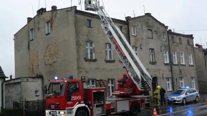 Armii Poznań – Pożar w przewodzie kominowym