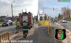 Neutralizacja plamy oleju na Sobieskiego