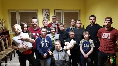 Ćwiczenia z pierwszej pomocy przeprowadzone przez Mistrzów Polski