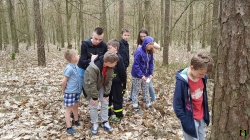 Wyprawa do lasu naszej Młodzieżowej Drużyny Pożarniczej