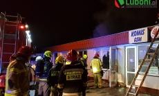 Nocny pożar pizzeri