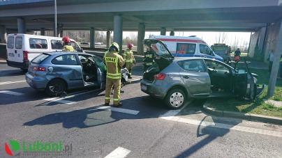 Wypadek – 3 osoby poszkodowane w tym kobieta w ciąży