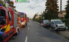 Wypadek z udziałem 3 samochodów