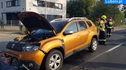 Wypadek z udziałem 4 samochodów osobowych