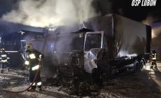 Pożar na terenie hurtowni chemicznej