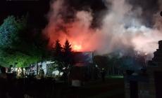 Nocny pożar przy ul. Fabianowo