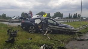 Wypadek na Głogowskiej – 3 osoby poszkodowane