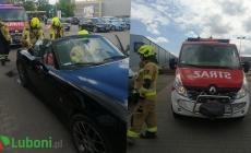 Wyciek paliwa z samochodu osobowego