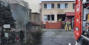 Pożar budynku mieszkalnego na Armii Poznań