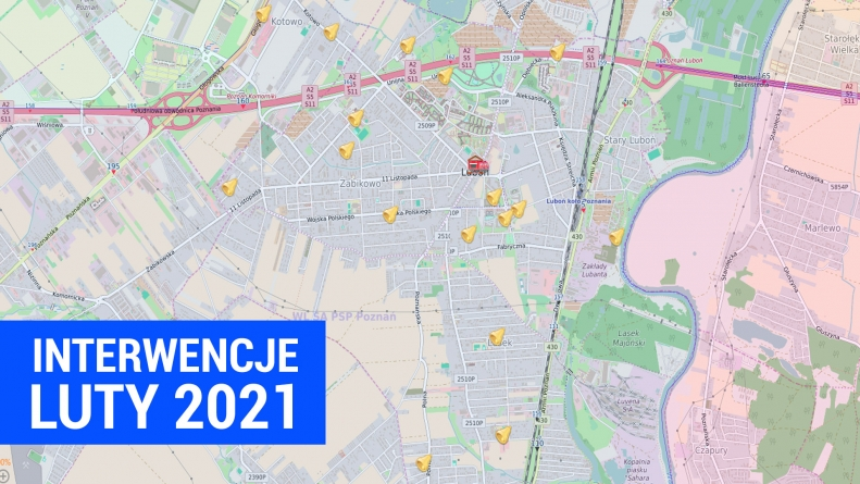 Podsumowanie interwencji Luty 2021