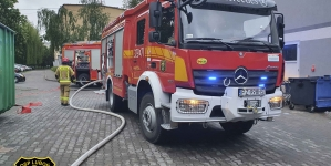 Pożar w C.H. Pajo