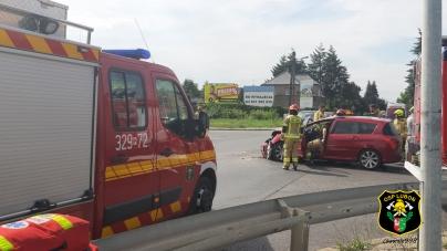 Wypadek na Kościuszki/Niezłomnych