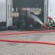 Pożar w warsztacie wulkanizacyjnym